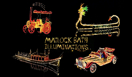 Matlock Bath Illuminations David Urquhart Travel